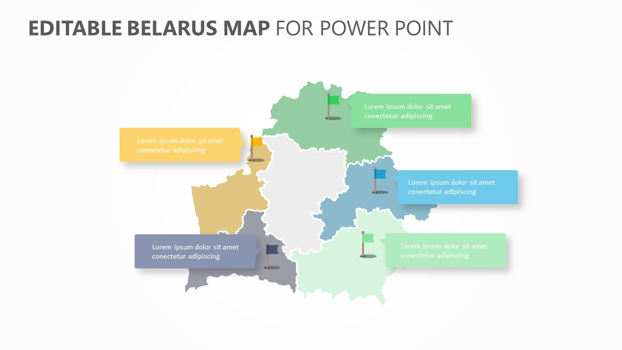 Belarus PowerPoint Map (3)