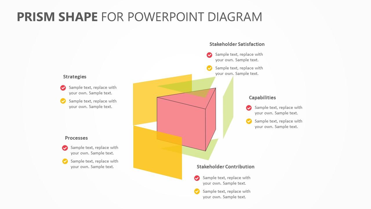 Prism Shape PowerPoint Diagram (1)