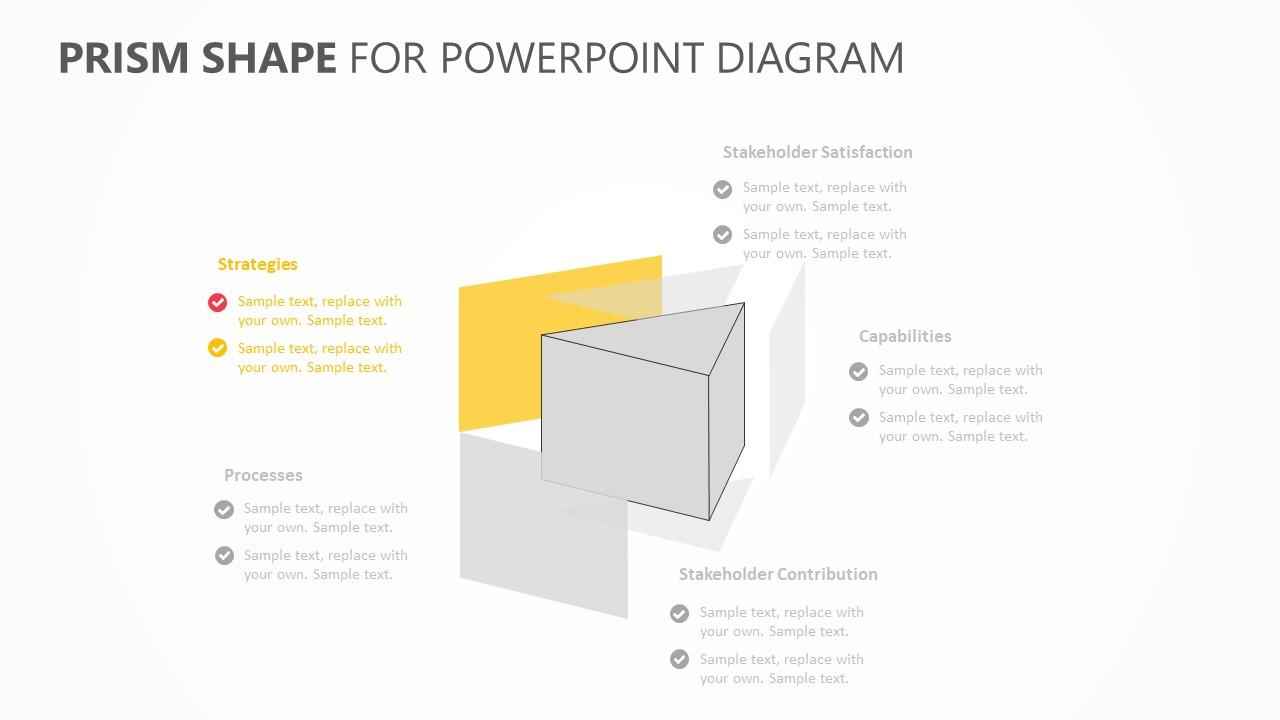 Prism Shape PowerPoint Diagram (2)