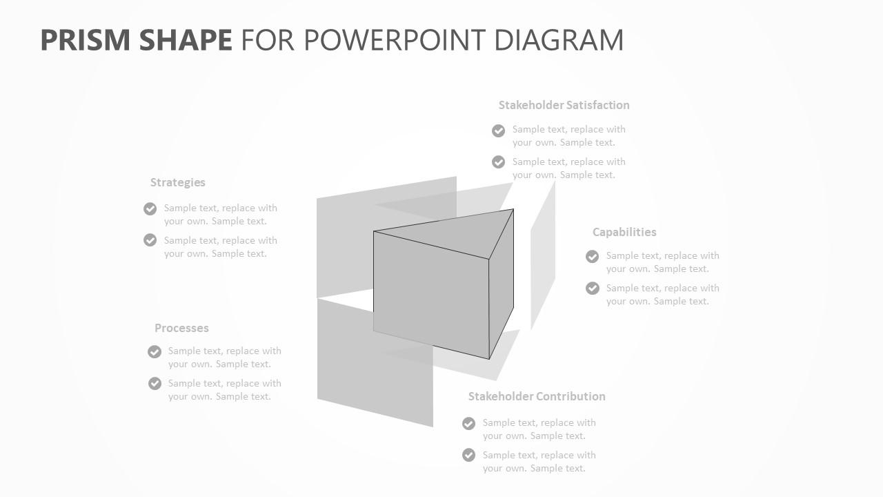 Prism Shape PowerPoint Diagram (3)