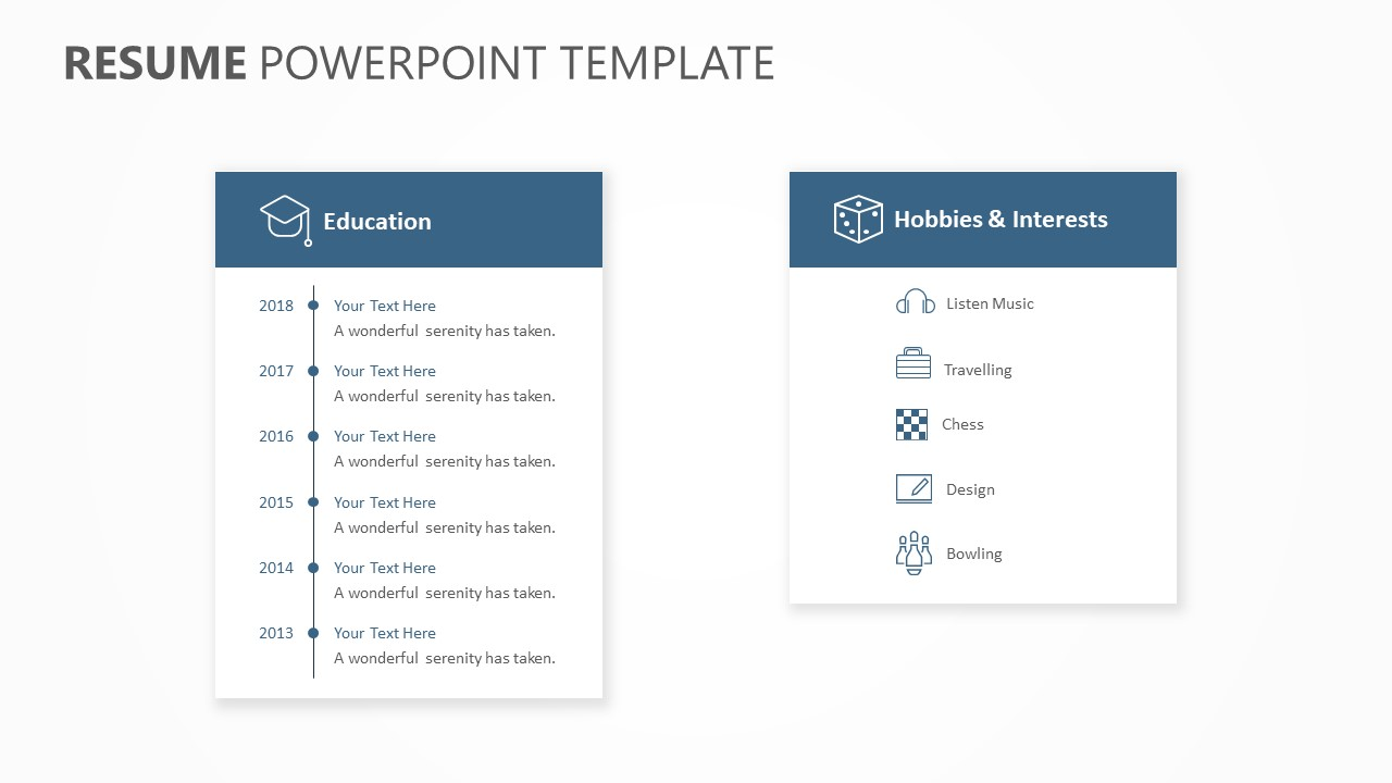 Resume PowerPoint Template (4)