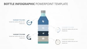 Bottle Infographic PowerPoint Template