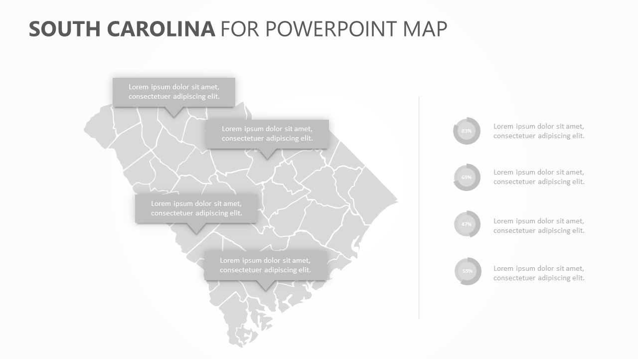 South Carolina PowerPoint Map (5)