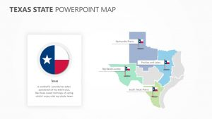 Texas State PowerPoint Map