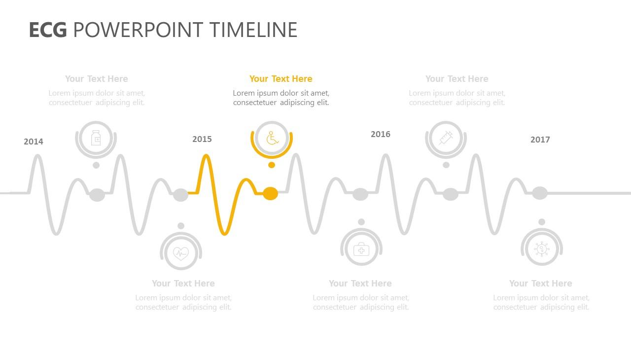 ECG PowerPoint Timeline (3)