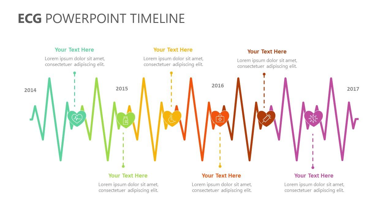 ECG PowerPoint Timeline (4)