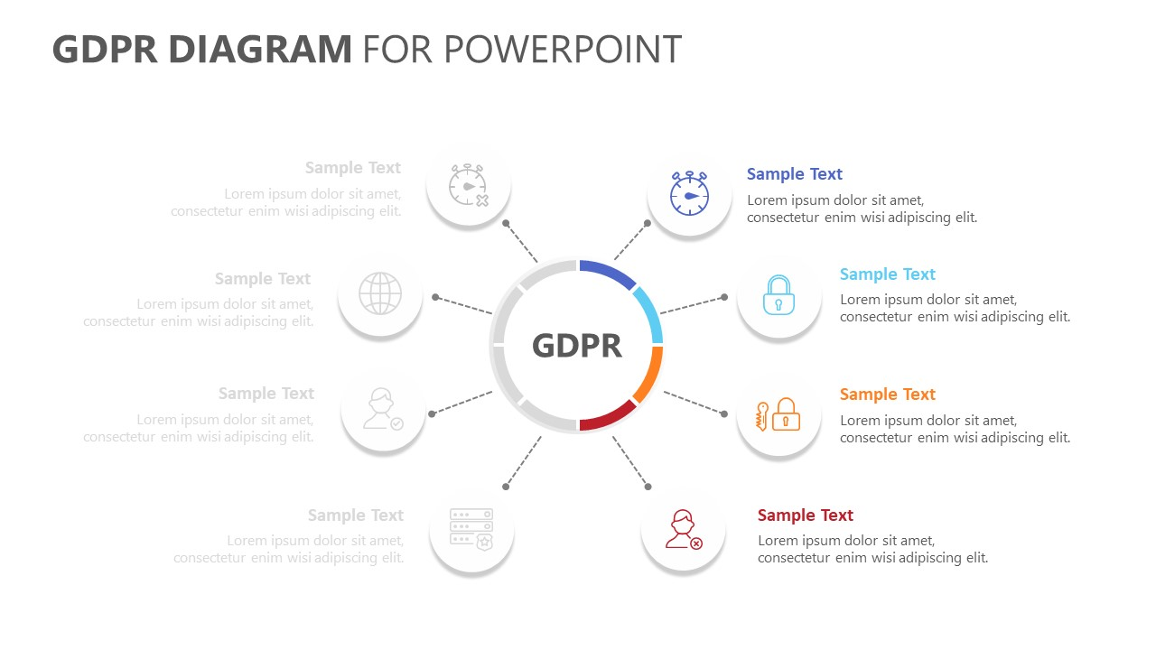 GDPR Diagram for PowerPoint (2)