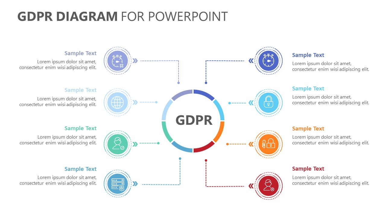 GDPR Diagram for PowerPoint (4)