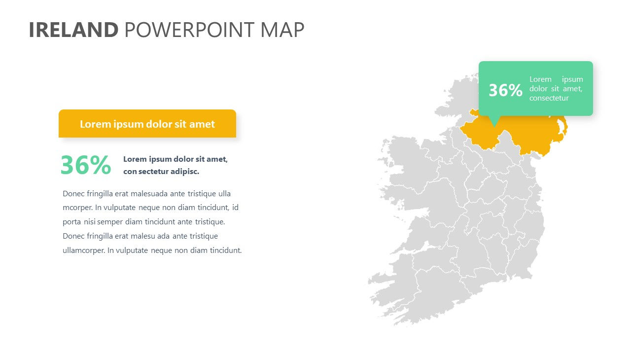 Ireland PowerPoint Map (3)