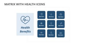 Matrix with Health Icons
