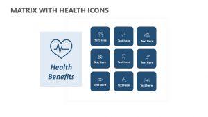 Matrix with Health Icons
