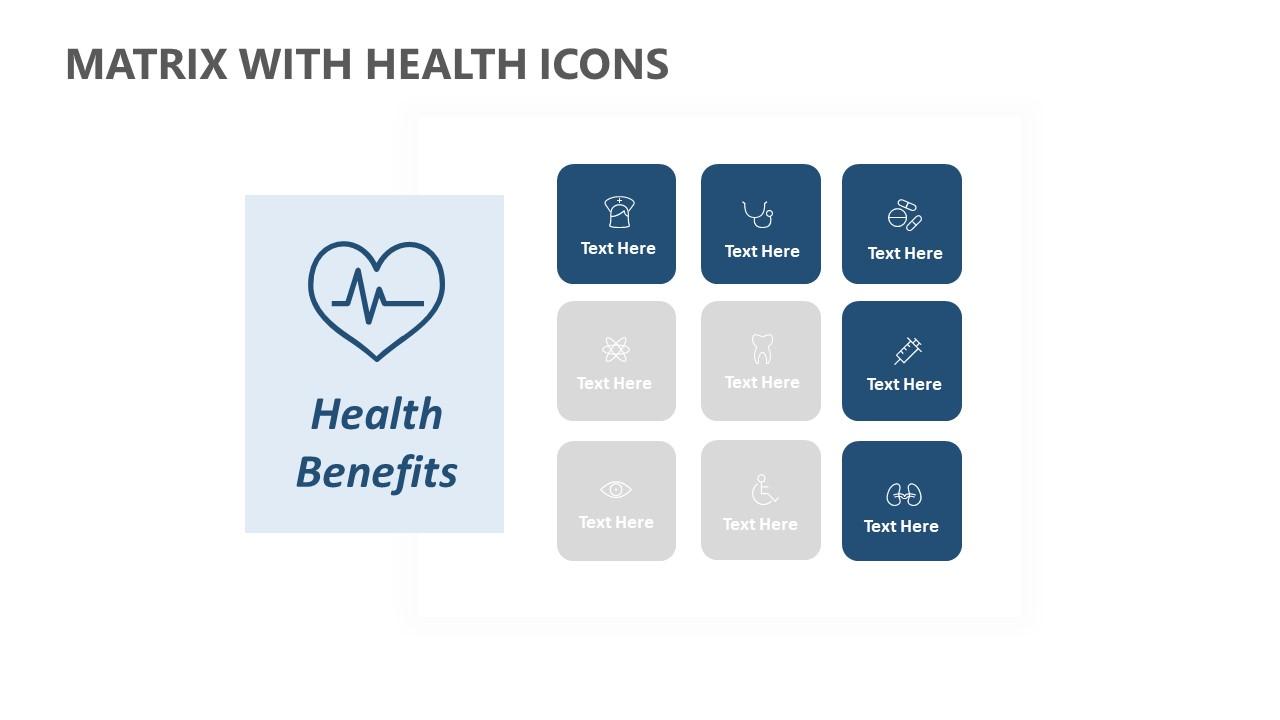 Matrix with Health Icons (2)