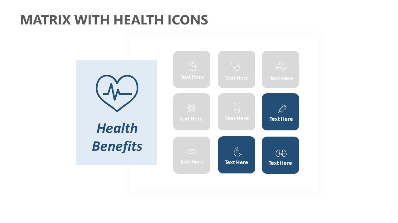 Matrix with Health Icons (3)
