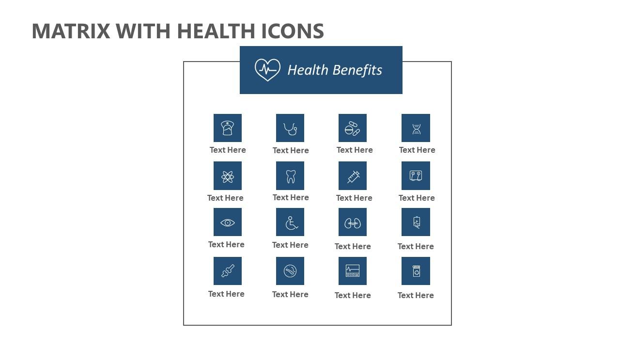 Matrix with Health Icons (4)