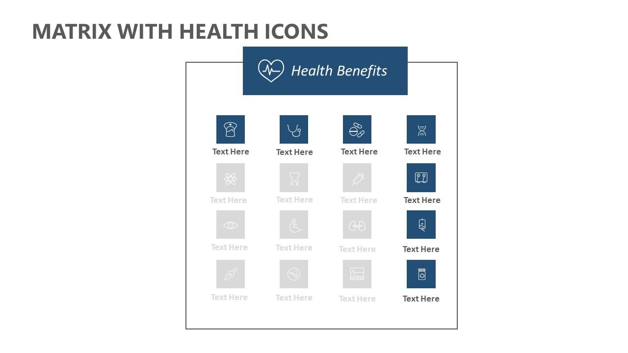 Matrix with Health Icons (5)