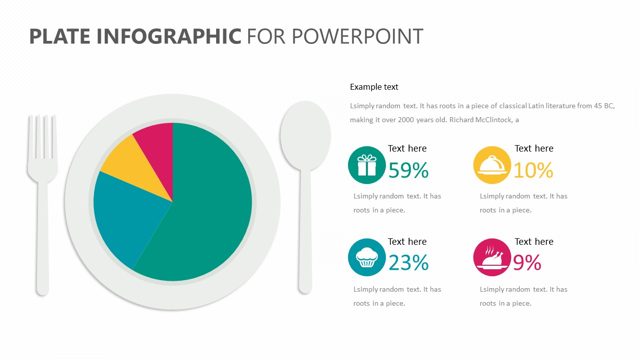 Plate Infographic for PowerPoint