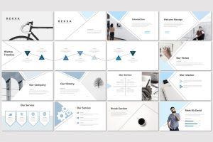 Rekxa – Minimal PowerPoint Template