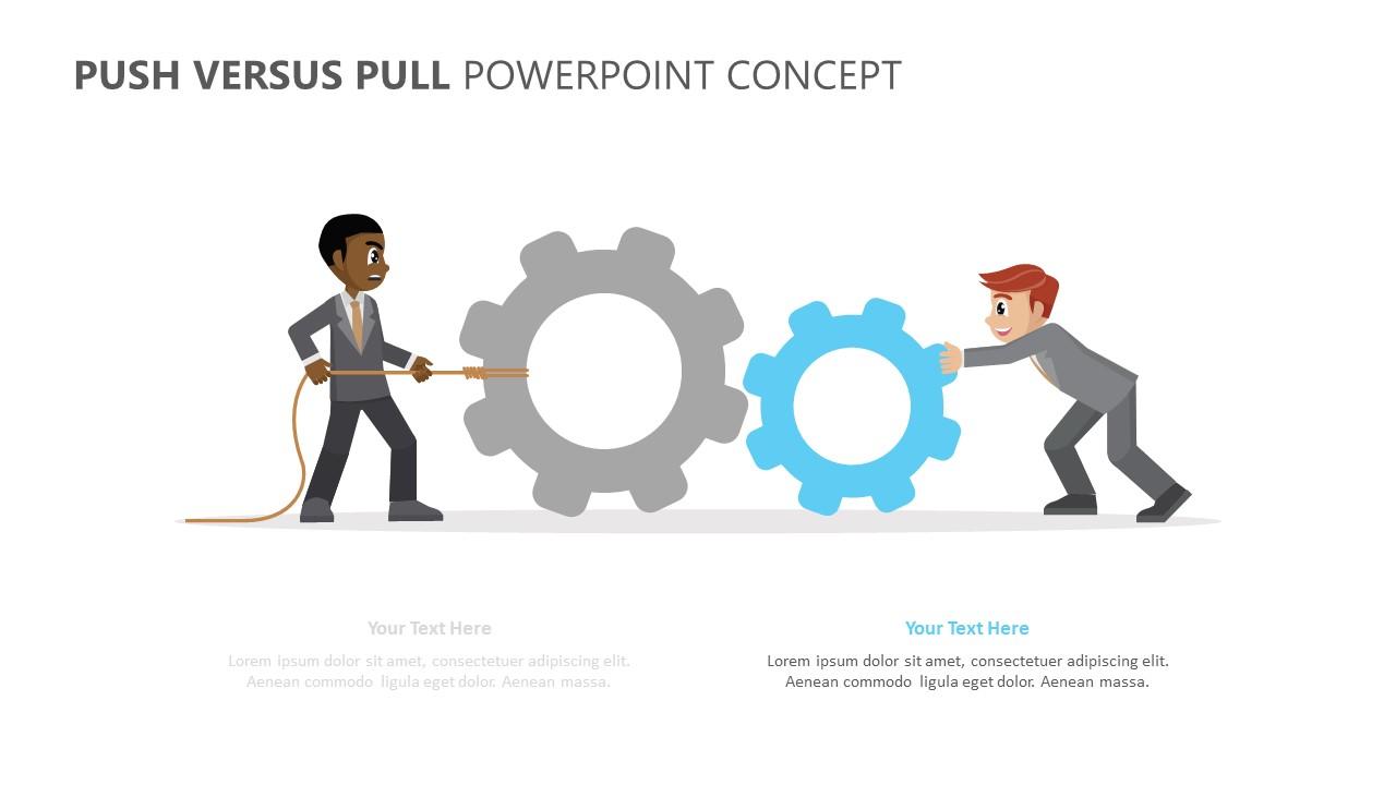 Push Versus Pull PowerPoint Concept (3)