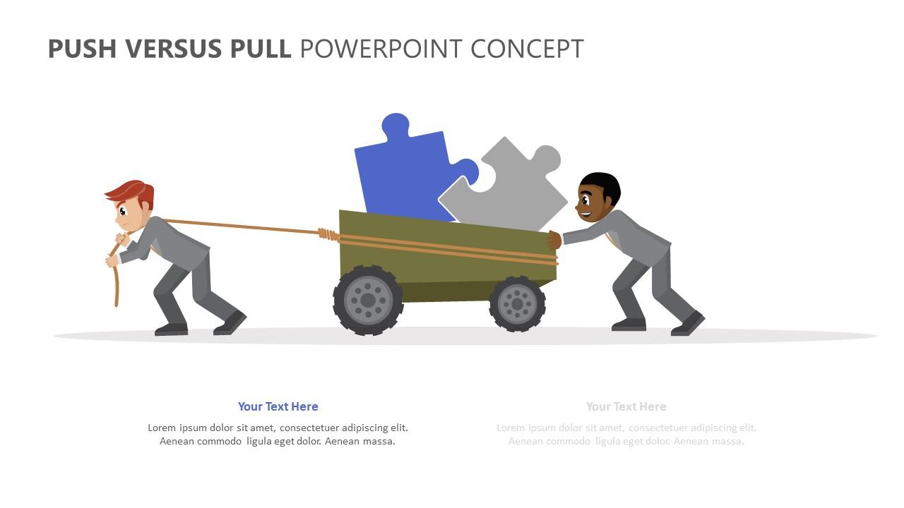 Push Versus Pull PowerPoint Concept (5)