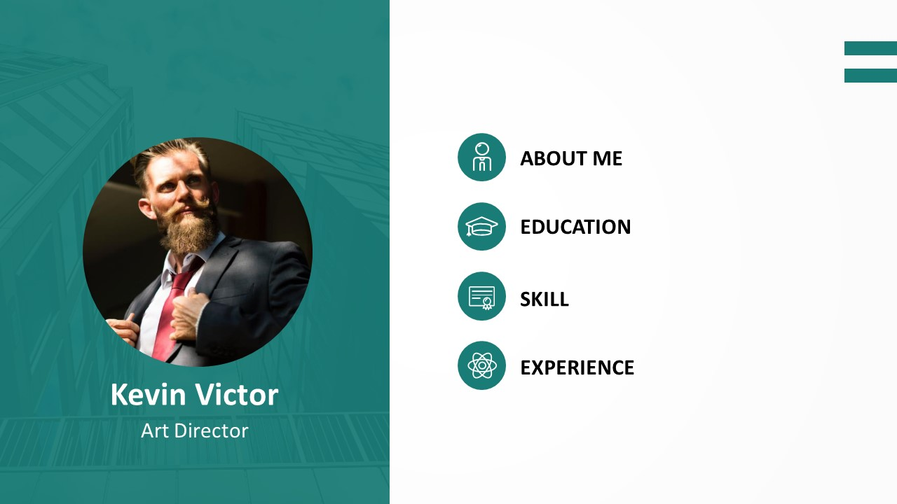 Resume PowerPoint Template (2)