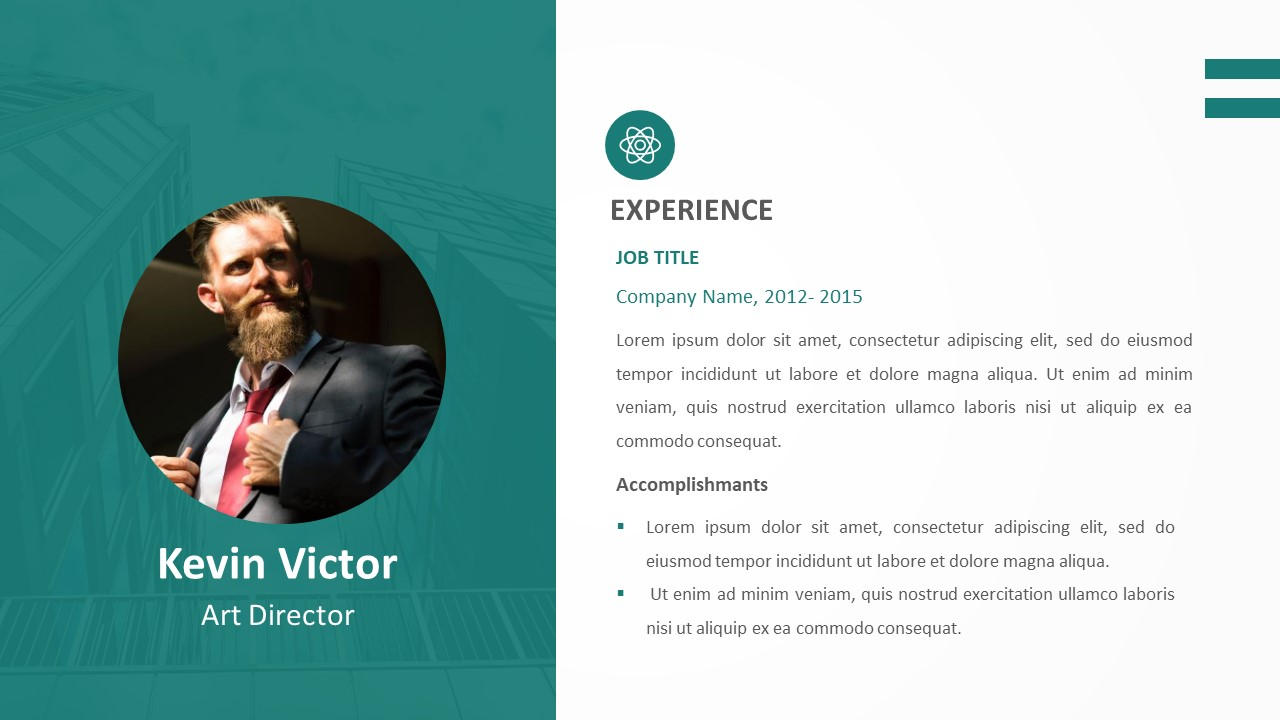 Resume PowerPoint Template (5)
