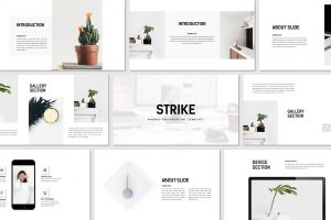Strike – Minimal PowerPoint Template