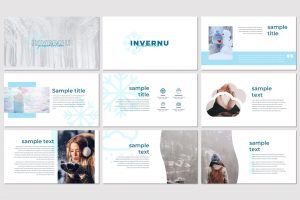 Invernu – Winter Themed PowerPoint Template