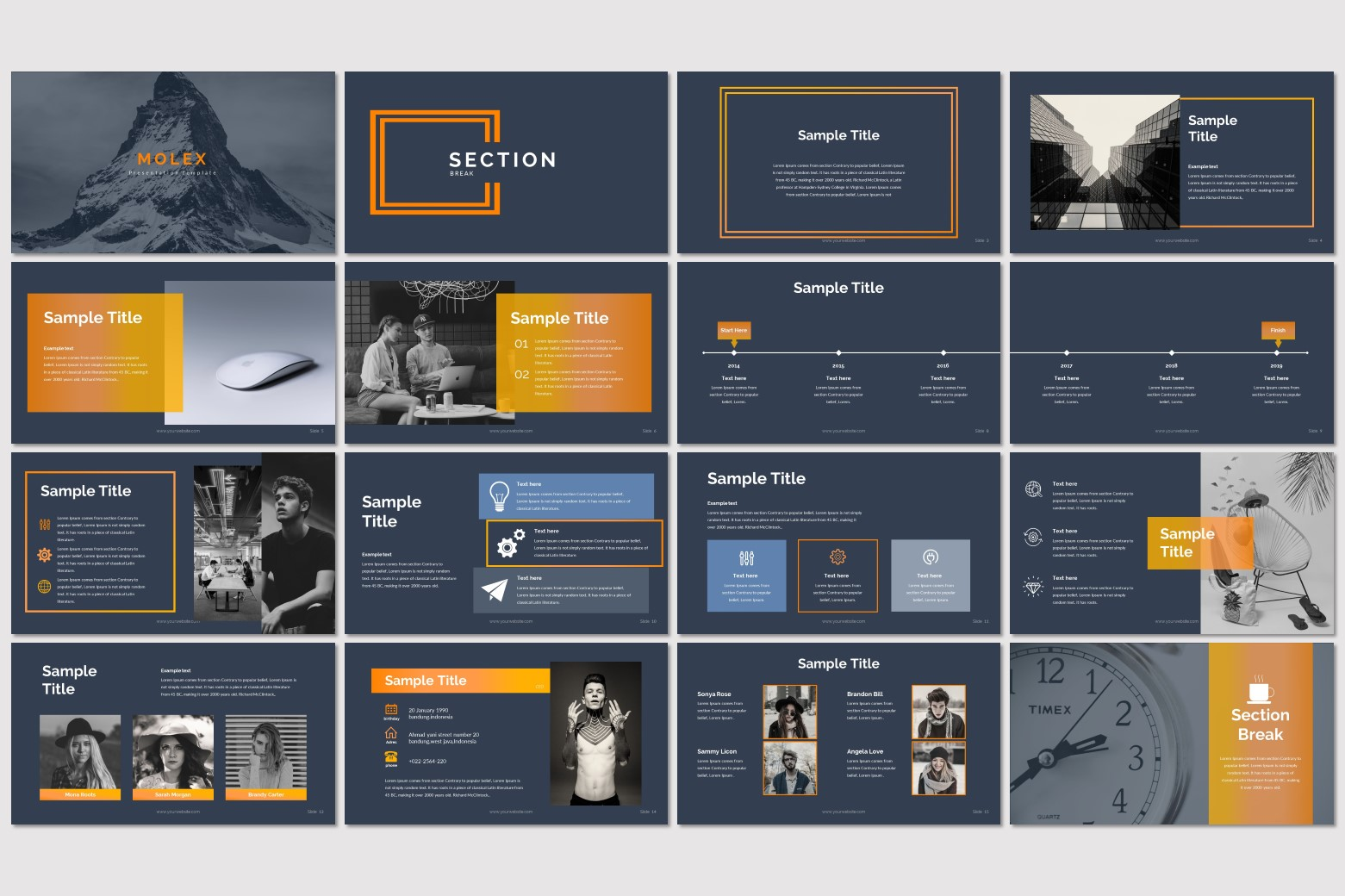 Molex – Multi-purpose PowerPoint Template