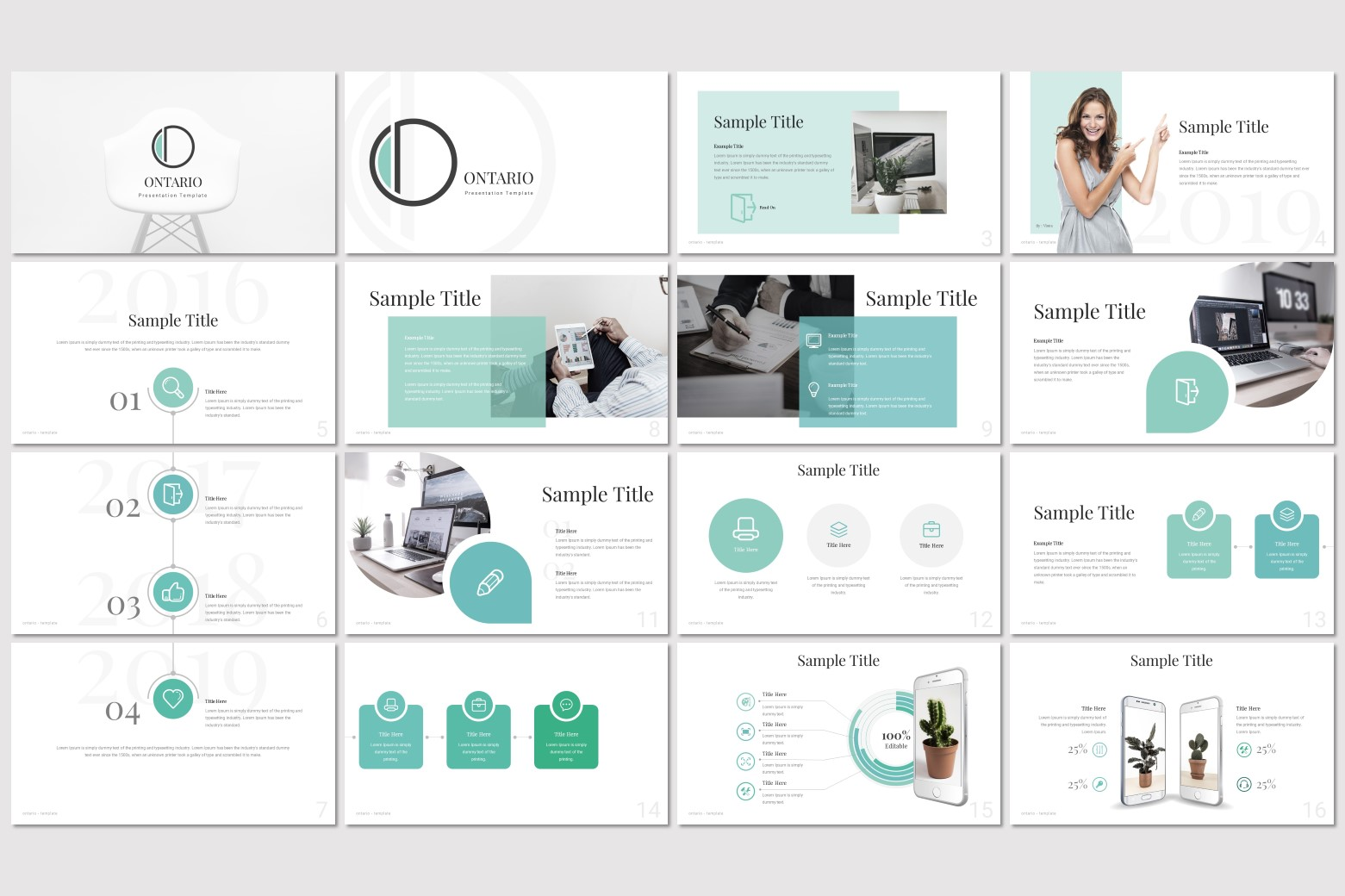 Ontario Multi-purpose PowerPoint Template