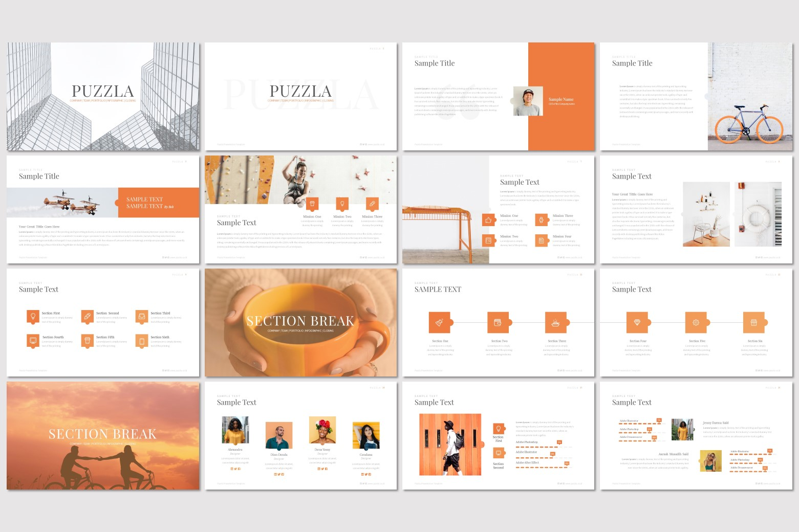 Puzzla – Multi-purpose PowerPoint Template