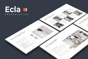 Ecla - Clean PowerPoint Template