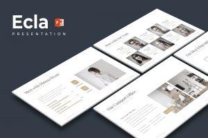 Ecla - Clean PowerPoint Template
