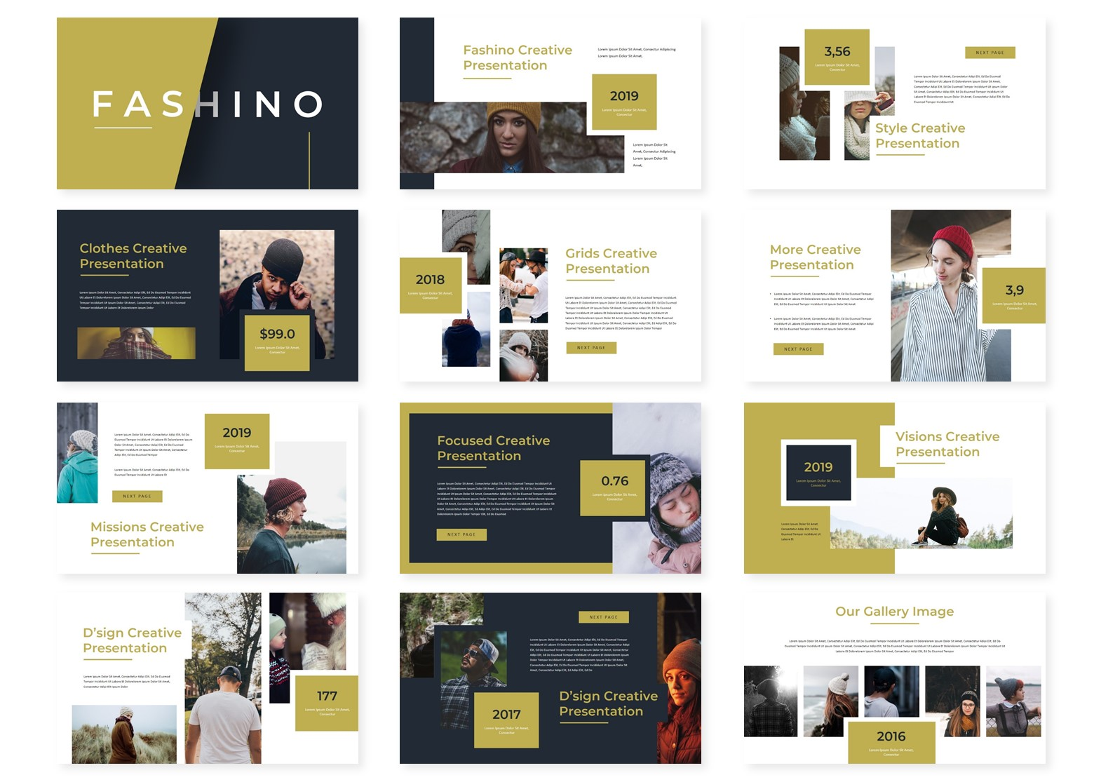 Fashino – PowerPoint Template (1)