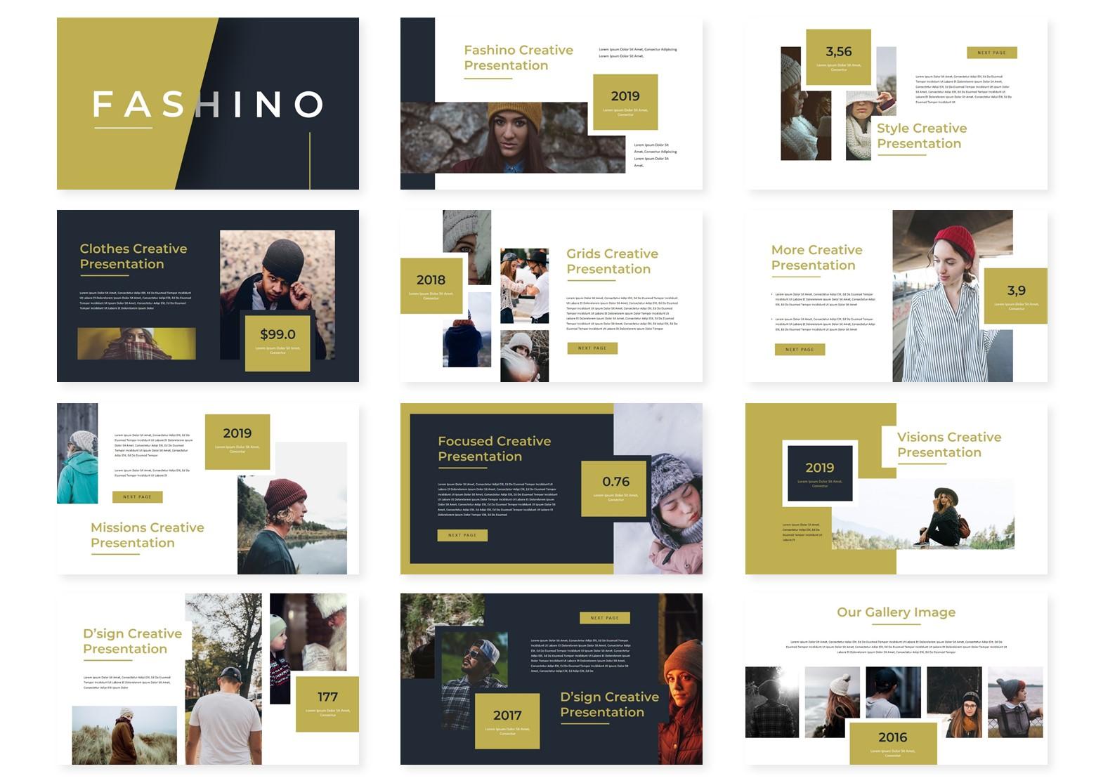 Fashino – PowerPoint Template (1)