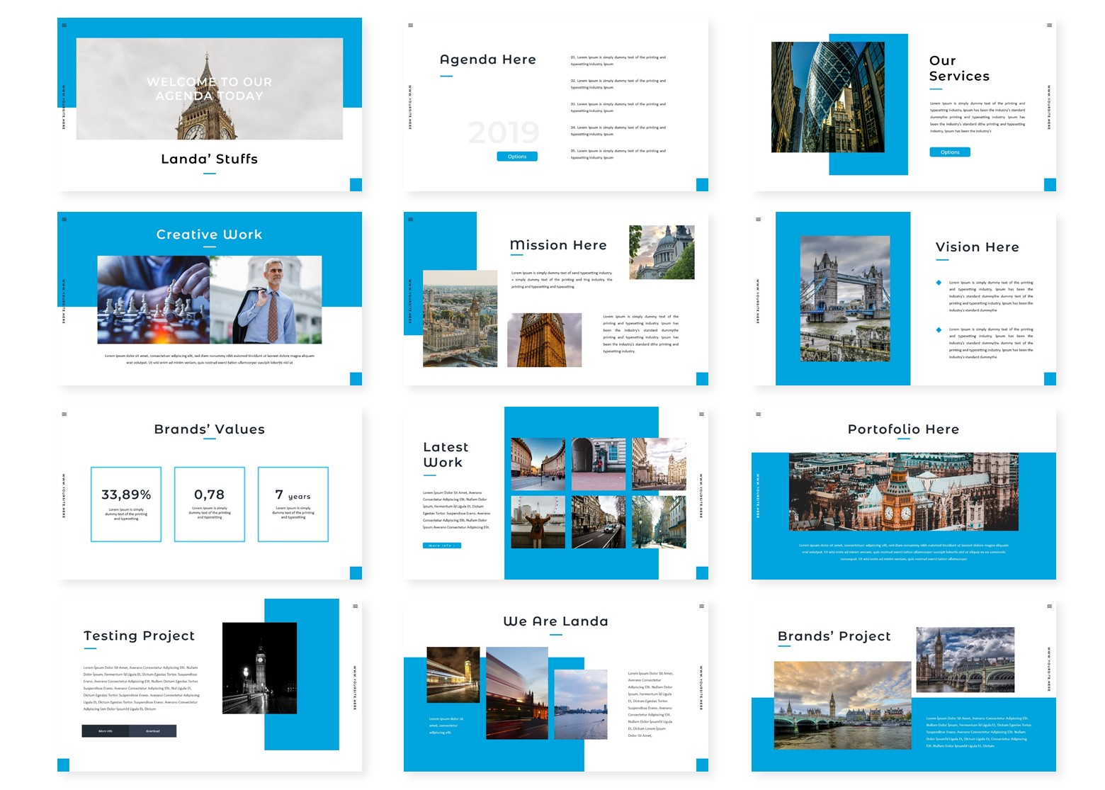 Landa – PowerPoint Template (1)