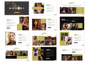 Modeni PowerPoint Template