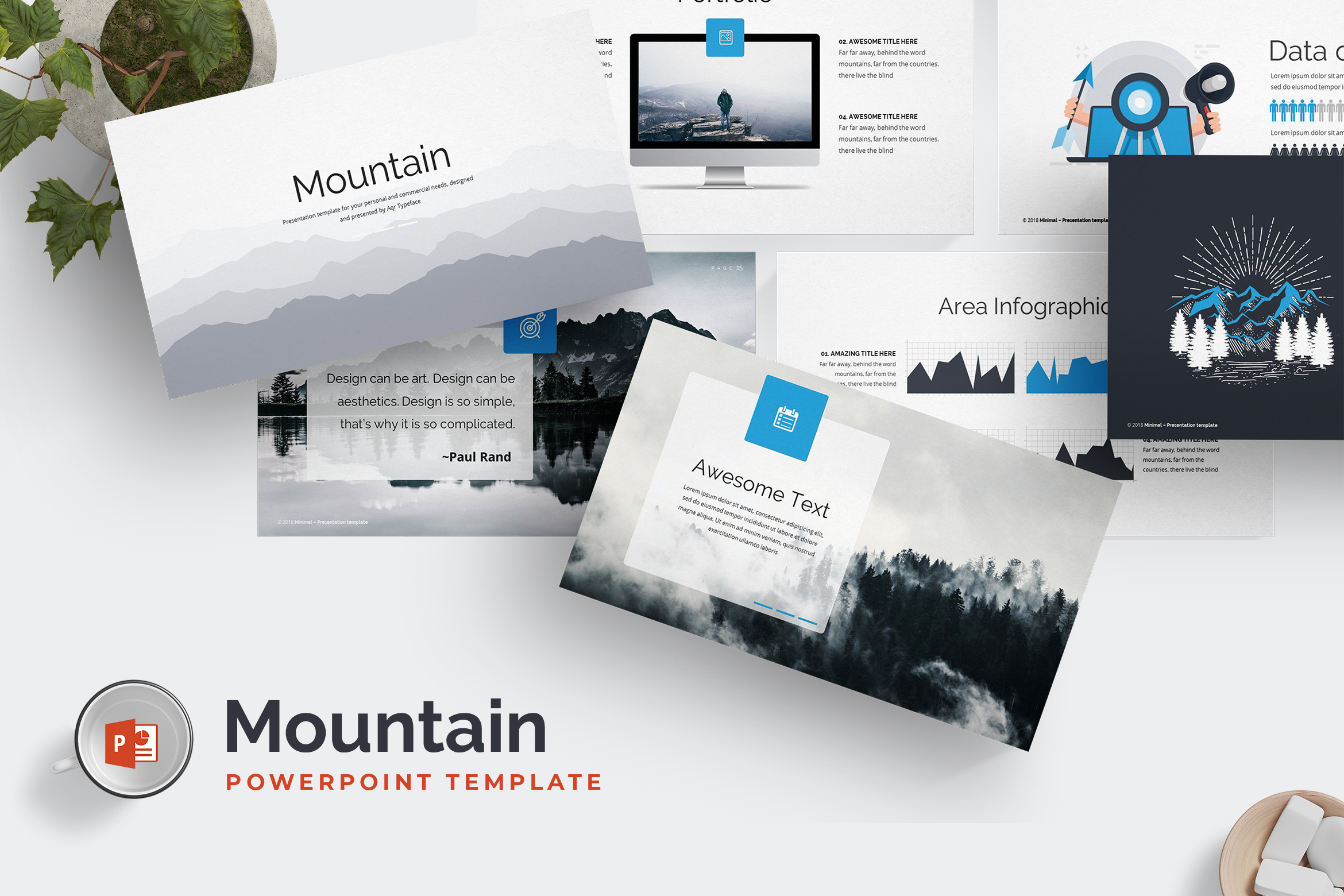 Mountain Powerpoint Preview