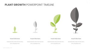 Plant Growth PowerPoint Timeline