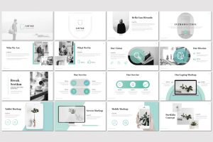 Lounge – Multi-purpose PowerPoint Template