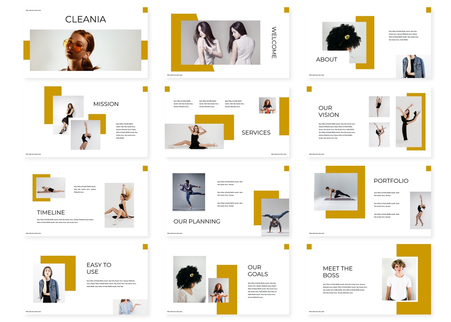 Cleania – Multi-purpose PowerPoint Template