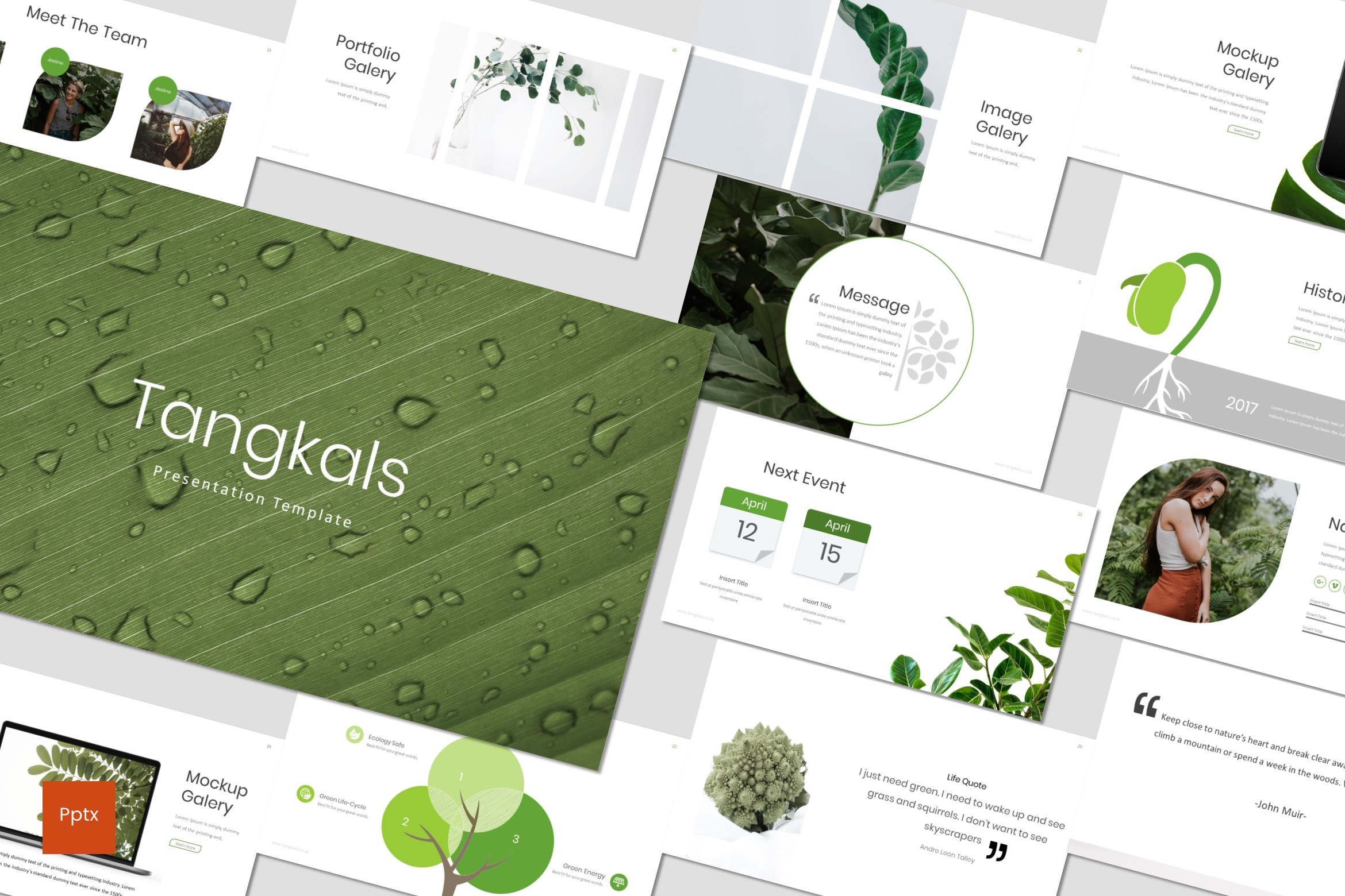 Tangkals – Environment PowerPoint Template