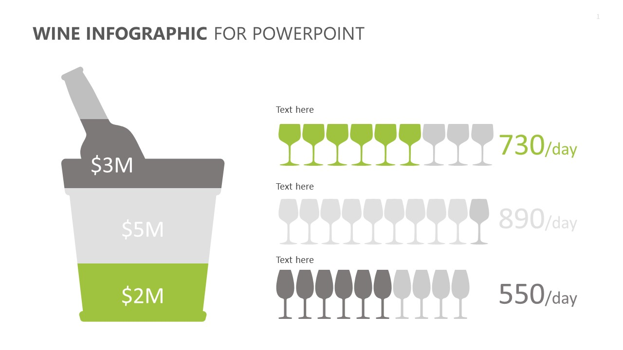Wine Infographic for PowerPoint