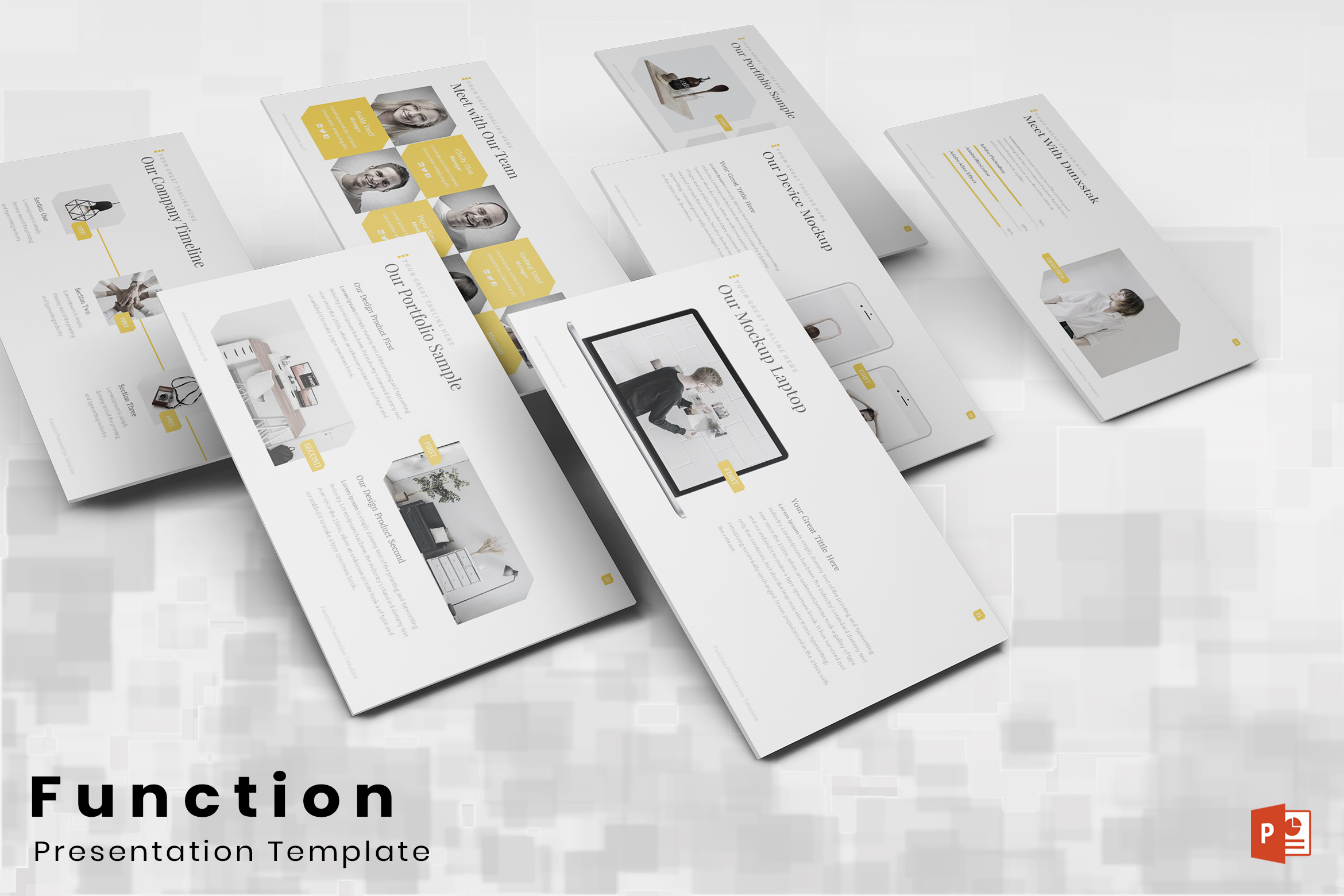 Function – Multi-purpose PowerPoint Template