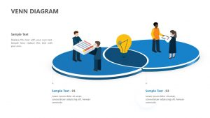 Infographic 3D Venn Diagram for PowerPoint (1)