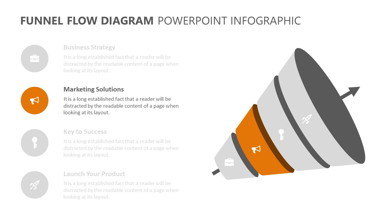 Funnel Flow Diagram PowerPoint Infographic (3)