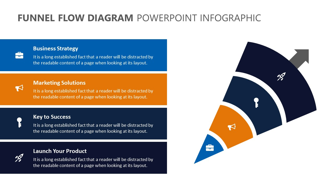 Funnel Flow Diagram PowerPoint Infographic (4)