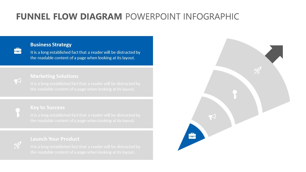 Funnel Flow Diagram PowerPoint Infographic (5)
