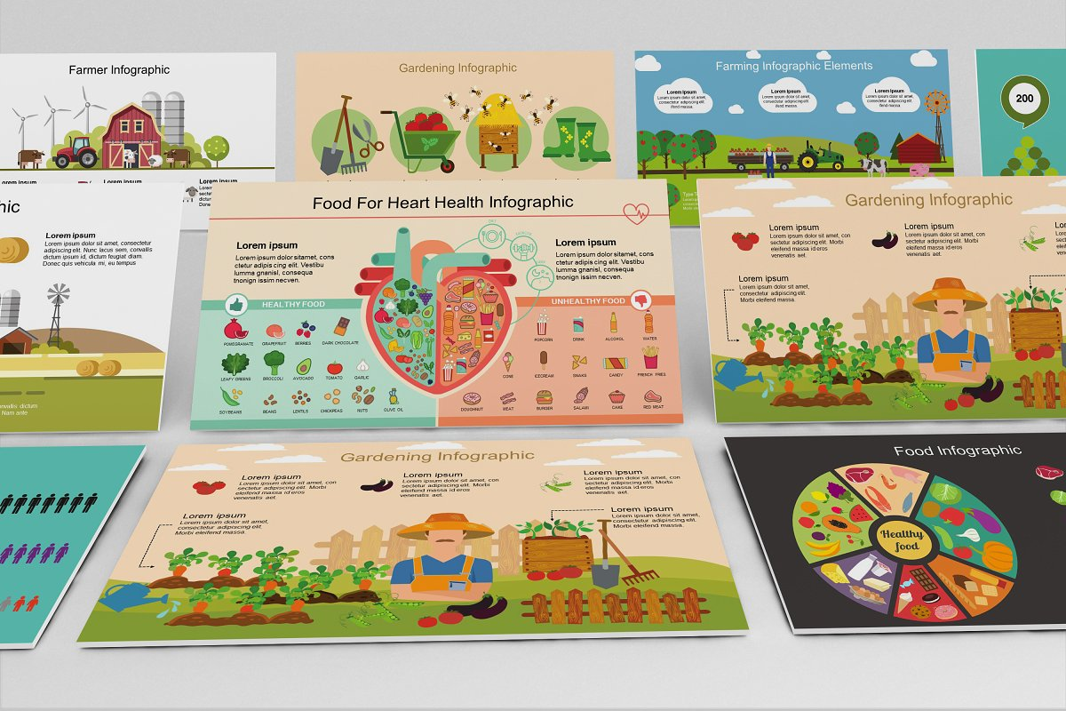 Mega Food PowerPoint Template