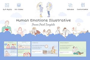 Human Emotions PowerPoint Template