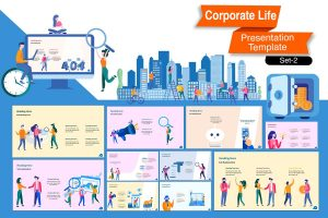 Corporate Life PowerPoint Template (Set2)